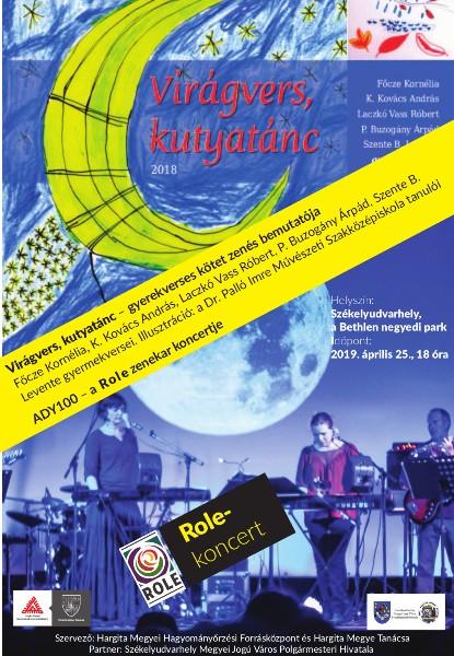 Prezentare carte de poezii pentru copii și concert Role