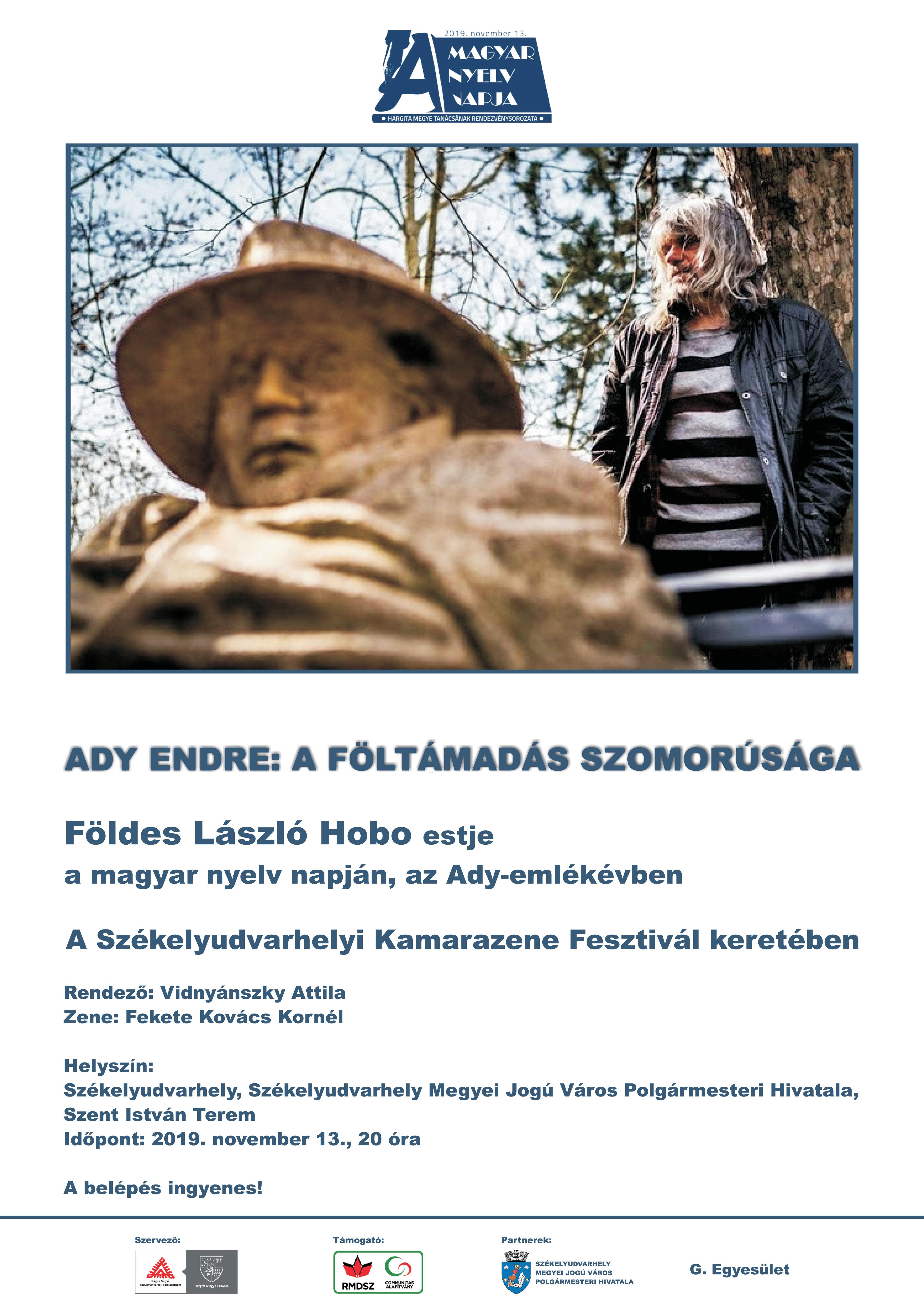 Tristețea învierii. Serată muzicalo-literală cu ocazia Zilei limbii maghiare la Odorheiu Secuiesc