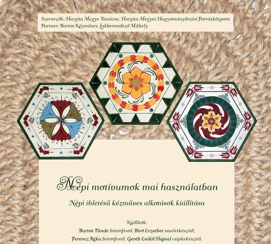 Expoziţia produselor de artizanat la Centrul Judeţean pentru Conservarea şi Promovarea Culturii Tradiţionale Harghita