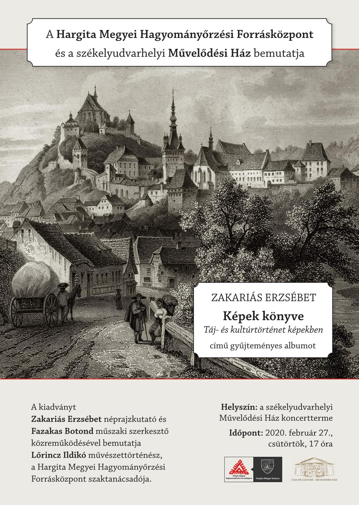 Cartea imaginilor. Istoria peisajului și a culturii în imagini Prezentare de carte la Odorheiu Secuiesc