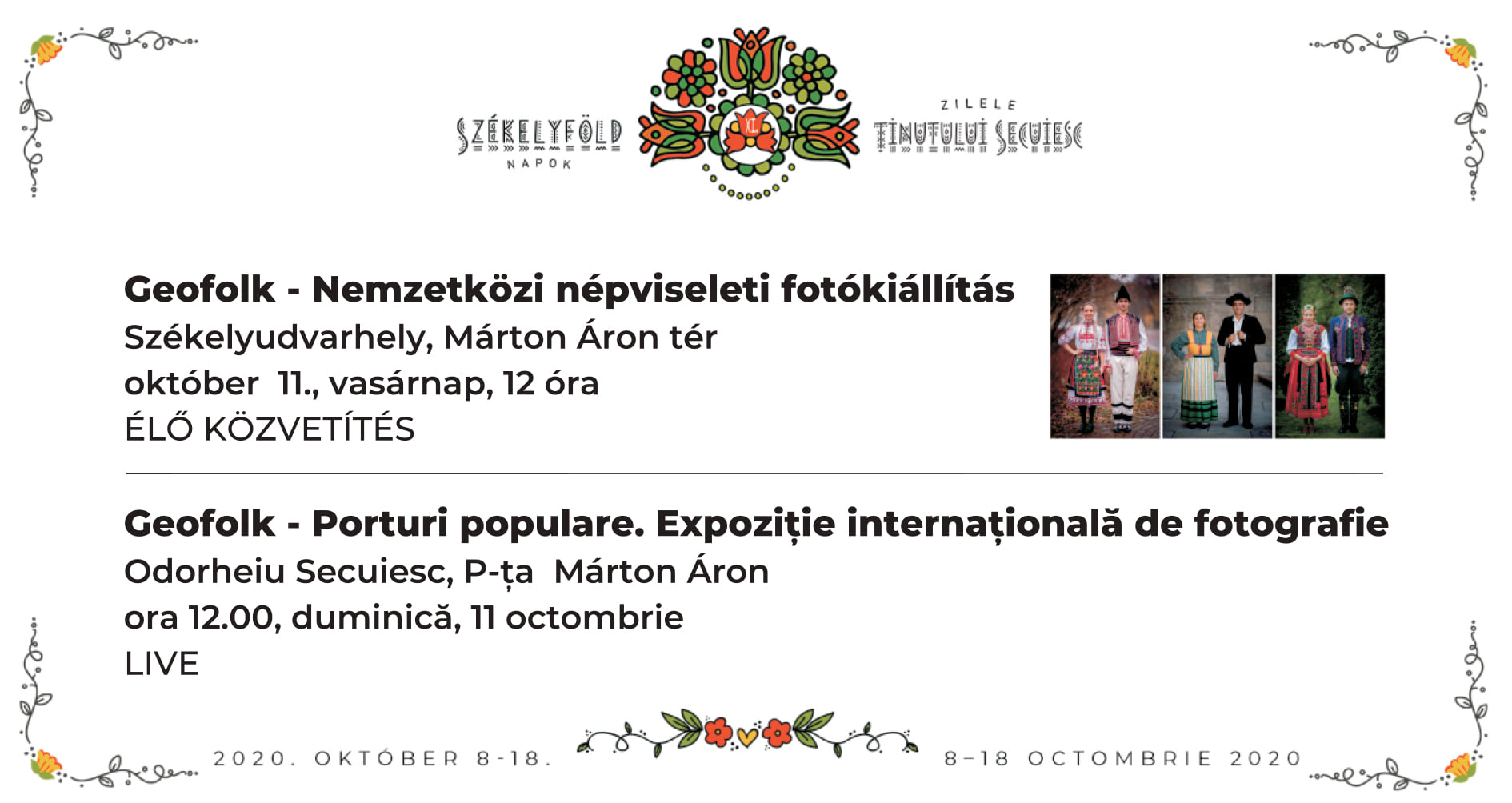 Expoziție internațională fotografică cu porturi populare