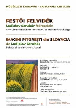Imagini pitorești din Slovacia de Ladislav Struhár. Expoziție fotografică la Muzeul Secuiesc al Ciucului