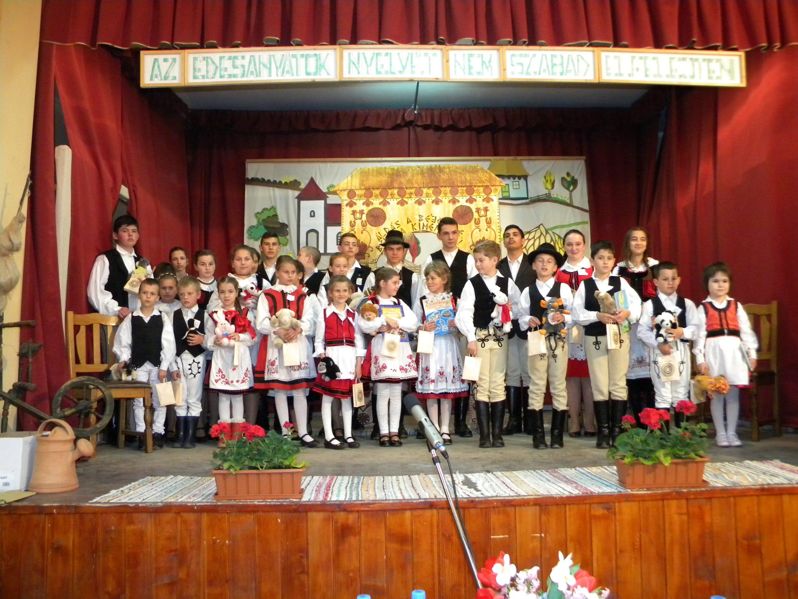 Concursul de recital basme Benedek Elek